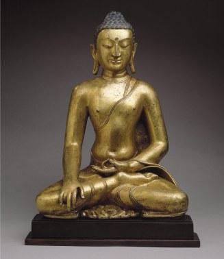 Buddha Shakyamuni or Akshobhya, the Buddha of the East. Between 11th-12th centuries